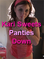 Kari Sweets Pinup Girls - Panties Down